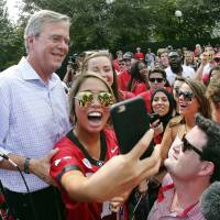 Hewing toward Republican rivals, Bush says multiculturalism wrong for U.S.