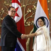 Odd couple: Ties warm between India and North Korea