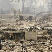 California declares emergency as wildfires gut homes, force evacuations