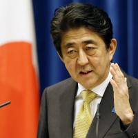 Abe to create new ministerial post to tackle key social issues