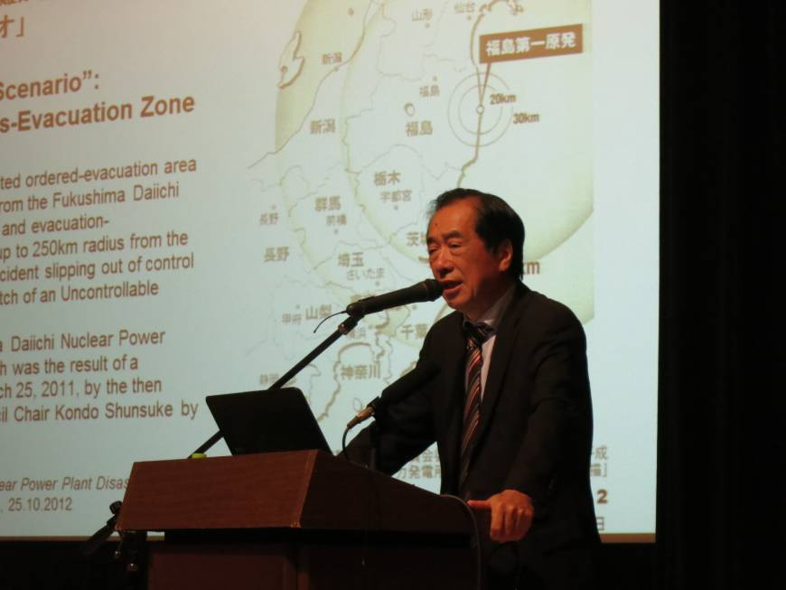 Former PM Naoto Kan says nuclear power makes little economic sense, must end