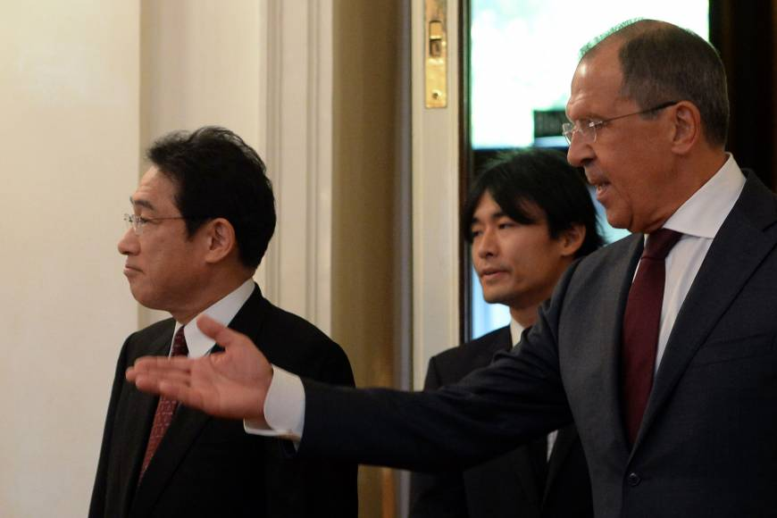 Moscow says if Japan wants peace deal, it must 'recognize' postwar 'historic realities'