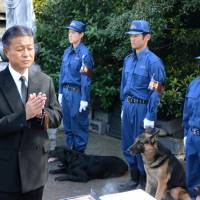 Police remember fallen canine comrades