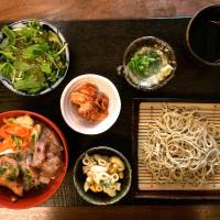 The lunch set at Kamiyama stars teuchi soba, finely cut and served in dainty portions. | ROBBIE SWINNERTON