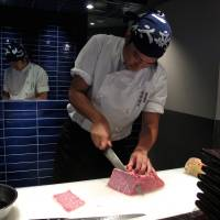 Owner Kentaro Nakahara sources his wagyu directly, working through wholesalers to check the provenance, bloodline and — most crucially — flavor. | ROBBIE SWINNERTON