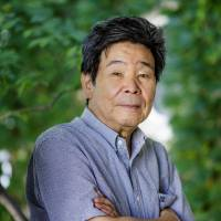 Conscientious objector: Film director Isao Takahata says 'you cannot keep the peace by picking up a weapon.'    PHOTO BY MARTIN HOLTKAMP