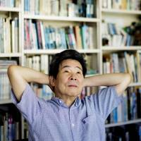 Deep in thought: Film director Isao Takahata strives to be as realistic as possible in his productions.  | PHOTO BY MARTIN HOLTKAMP