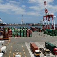 Hakata port is the logistics hub of the city. | FUKUOKA CITY