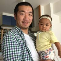 When her boyfriend, Daisuke Oumiya, was transferred from Sapporo to distant Fukuoka, Amanda took the plunge and went with him. The couple married and baby Kina arrived soon after. | COURTESY OF THE FAMILY