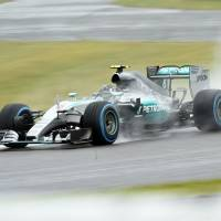 Rain disrupts Japanese GP sessions
