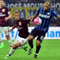 Mihajlovic defends Honda after derby dud