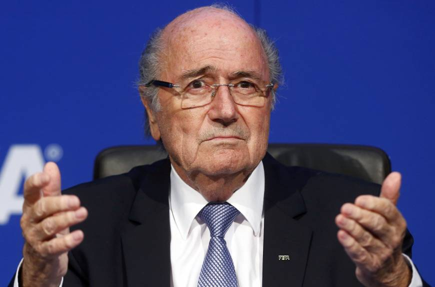 Blatter's stain on game proving very lame