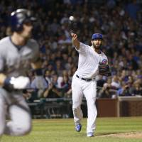 Cubs' Arrieta notches 20th victory