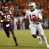 Jones gets nod as No. 1 Ohio State takes down Va. Tech