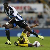 Newcastle shocked in League Cup