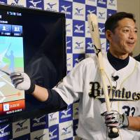 So Taguchi spent eight seasons as a player in the major leagues. | KYODO