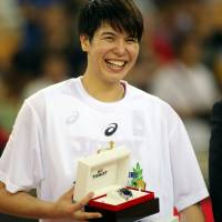 Japan star Ramu Tokashiki, who was named FIBA Asia Women's Championship MVP earlier this month, played her first game at small forward in the Seattle Storm's WNBA regular-season finale on Sunday.   AP