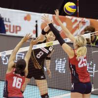 U.S. volleyball squad storms past Japan
