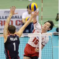 U.S. spikers outplay Japan in FIVB Men's World Cup