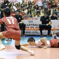 Japan lets Olympic men's volleyball qualification chance slip