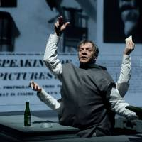 A trip in the theater: Marc Labreche takes the main role in Robert Lepage's 'Needles and Opium.' | NICOLA-FRANK VACHON