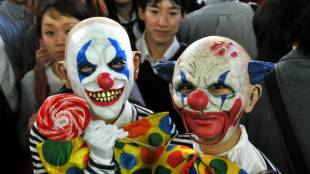 Halloween takes over the streets of Shibuya