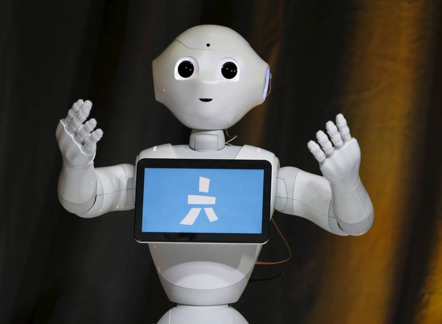 Friendly robot Pepper makes European debut in French store