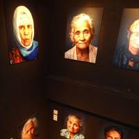 Face to face: An exhibition of portraits of former Indonesian 'comfort women' shot by Dutch photographer Jan Banning is currently showing at Kid Ailack Art Hall in Tokyo. | KYODO
