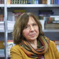 Nobel laureate Alexievich defies borders with chronicles of human testimony