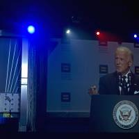 As Obama weighs eased policy, potential candidate Biden backs transgender military service