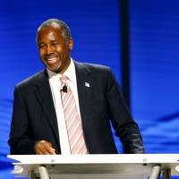 Candidate Carson calls for virtual blanket abortion ban, says he is not pathological