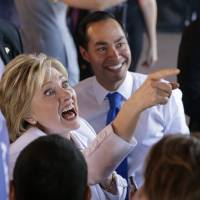Clinton outspends all rivals in building campaign juggernaut