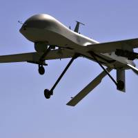 Armed U.S. Predator drones crash, one in Iraq, another in Turkey