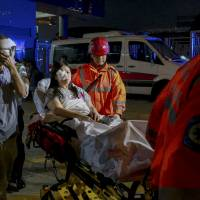 120 injured in Hong Kong ferry crash