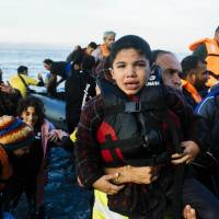 Migrant woman, two children drown off Lesbos; Greek isle running out of room for burials