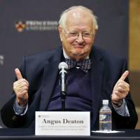 Princeton economist Deaton wins Nobel for work on poverty