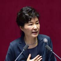 South Korea's Park to play balancing act between China and Japan