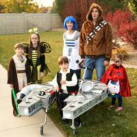 Family builds Star Wars costume for son with cerebral palsy