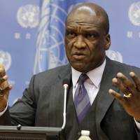 Ex-U.N. General Assembly head held in bribe probe tied to China billionaire: Ban 'shocked'