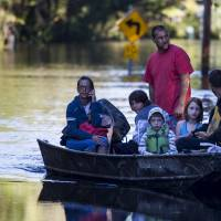 Second deluge looms for South Carolina coastal areas; residents told to flee