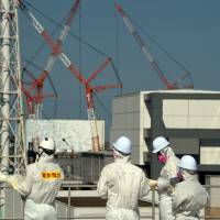 Tepco expects to begin freezing ice wall at Fukushima No. 1 by year-end