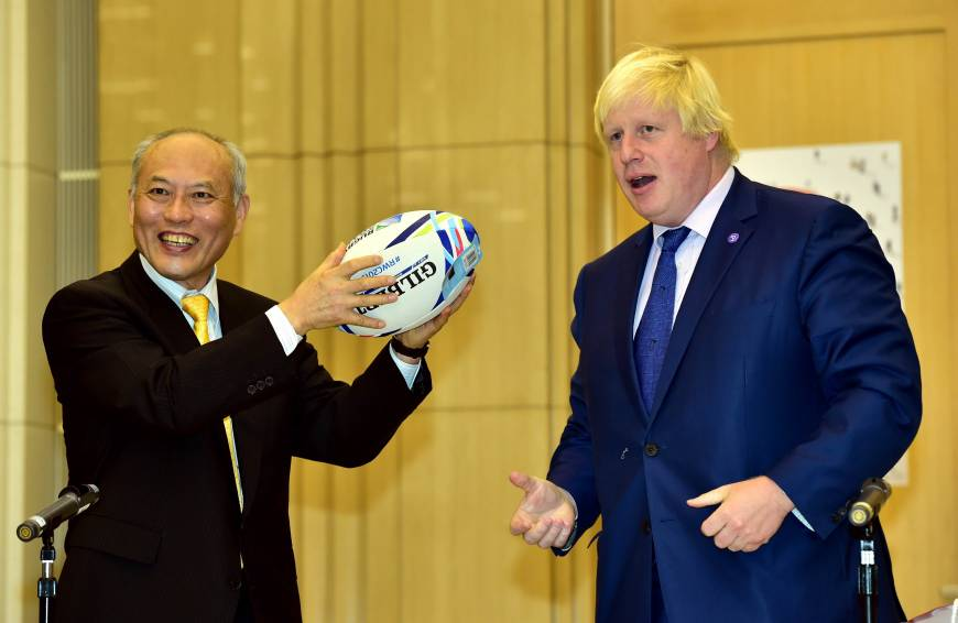 Mayors of Tokyo, London sign city friendship agreement