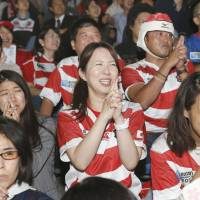 Rugby fever sweeps Japan, as Goromaru and Co. become household names