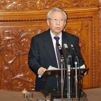 Opposition contests chaotic Upper House vote, assails LDP for amending record of events