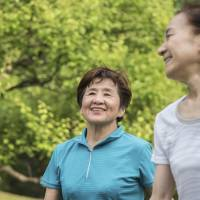 According to a fiscal 2014 survey, more than 30 percent of people aged 65 or over said they do physical exercise three or four days a week, compared with around 10 percent for those in their 20s to 50s. | ISTOCK