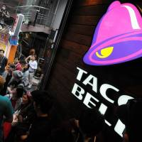 New markets: The opening of a Taco Bell franchise in Tokyo is the first step in a wider expansion. | SATOKO KAWASAKI
