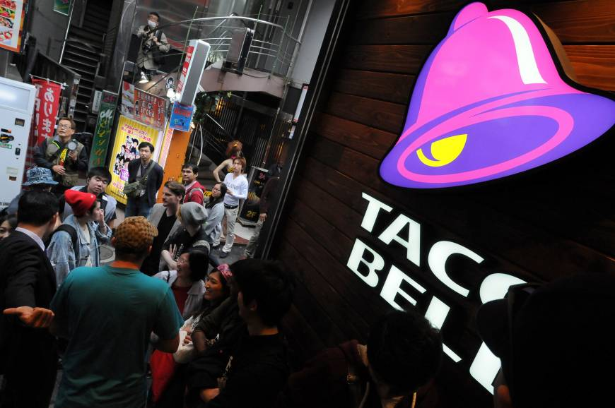 Chips are down but Taco Bell unwraps plan to expand in Asia