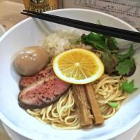 Ramen renamed: Black Duck Soba at Tsuta no Ha, the new branch of Sugamo ramen shop Japanese Soba Noodles Tsuta. | ROBBIE SWINNERTON
