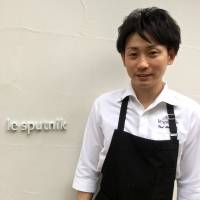 Rising star: After years working in Paris and Tokyo, Chef Yujiro Takahashi is set to shine at Le Sputnik, his new restaurant in Roppongi. | ROBBIE SWINNERTON