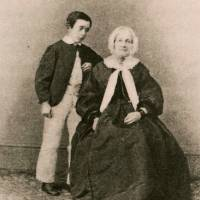 An age before Japan: Hearn lived his Irish great-aunt during the 1850s.   PUBLIC DOMAIN